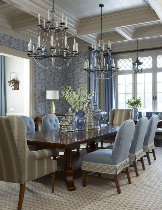 Coastal Dining Room Ideas: Classic Country Style