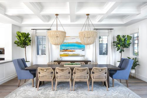 Coastal Dining Room Ideas