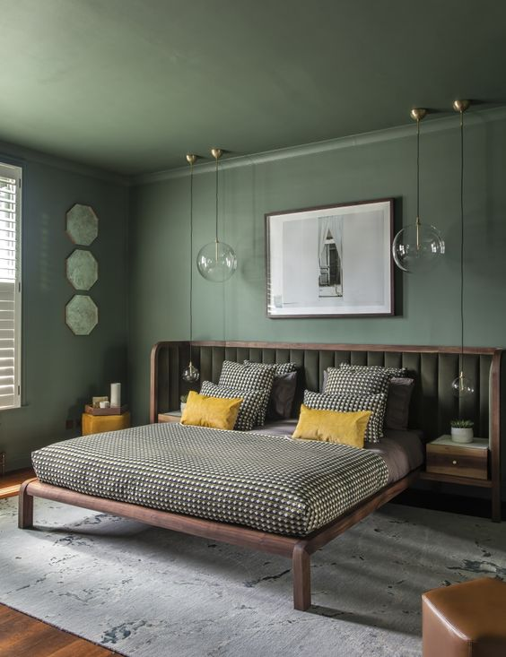 Fresh Green Bedroom Ideas To Freshen And Lift Your Mood Decortrendy