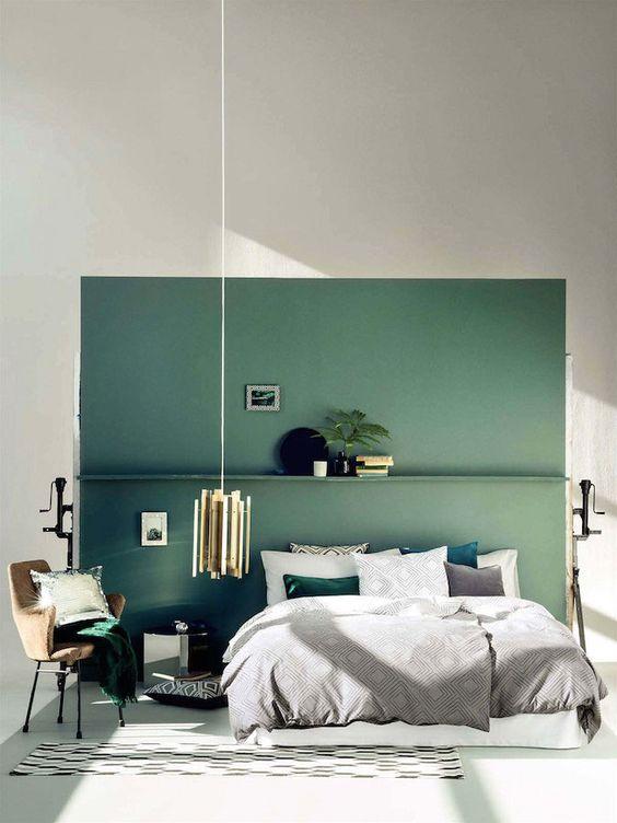 Green Bedroom Ideas: Captivating Minimalist Bedroom