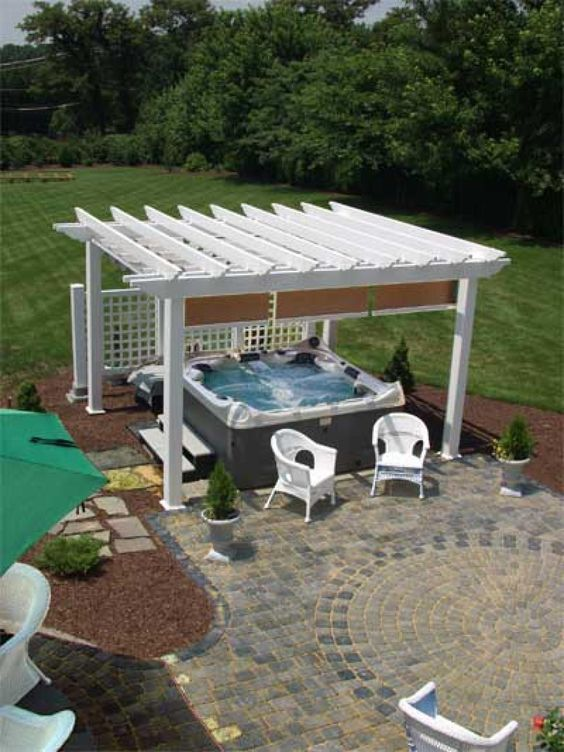 Hot Tub Privacy: Simple Privacy Feature