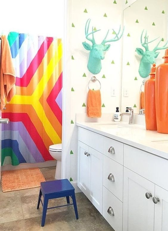 Kids Bathroom Ideas: Playful and Colorful