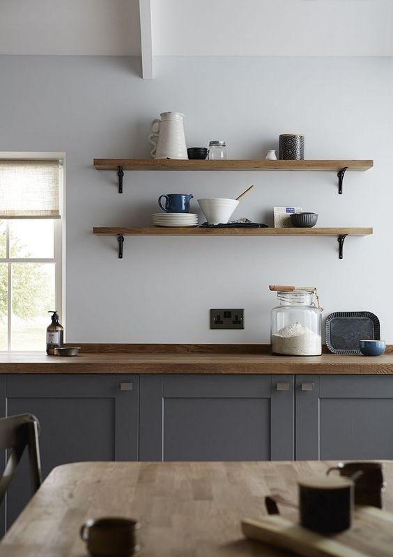 Kitchen Wall Ideas: Minimalist and Neat