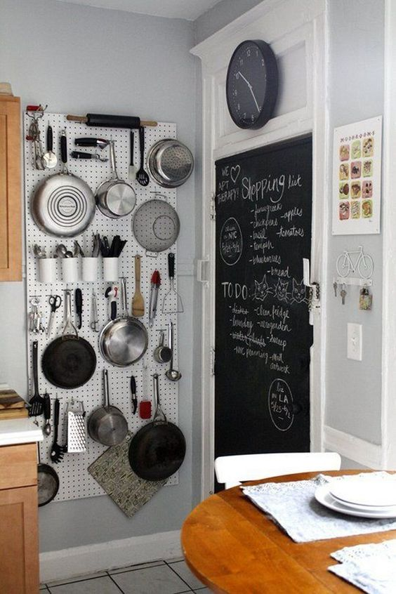 Kitchen Wall Ideas: Optimize Empty Space