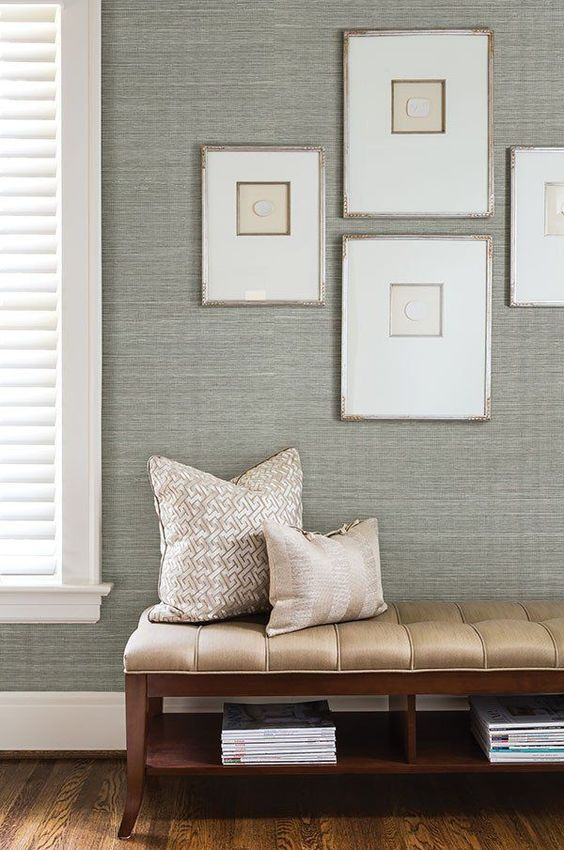 Living Room Wallpaper Ideas: Stunning Textured Wallpaper
