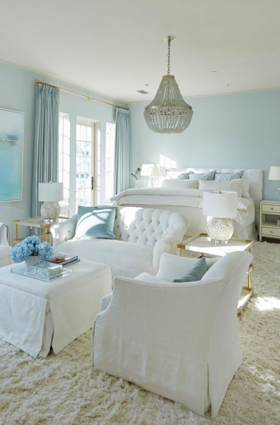 Luxury Bedroom Ideas: Fresh Coastal Concept