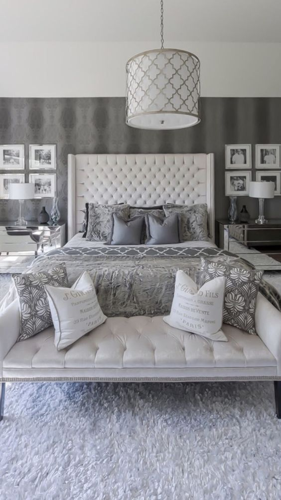 Luxury Bedroom Ideas: Divine Gray Bedroom