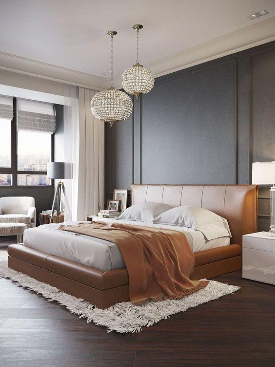 Luxury Bedroom Ideas: Striking Contemporary Look