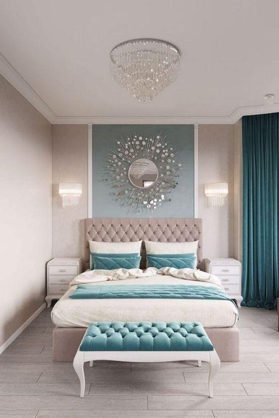 Luxury Bedroom Ideas: Blinding Simple Decor