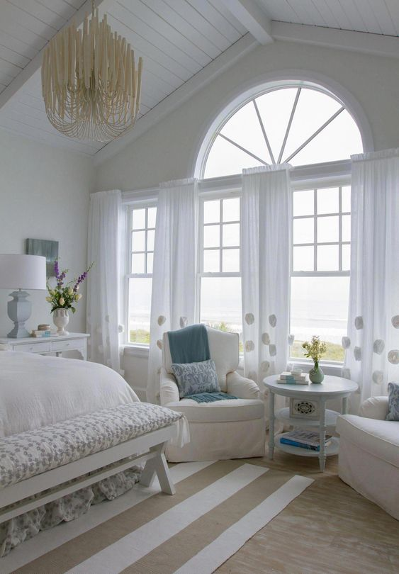 Luxury Bedroom Ideas: Charming Nautical Vibe