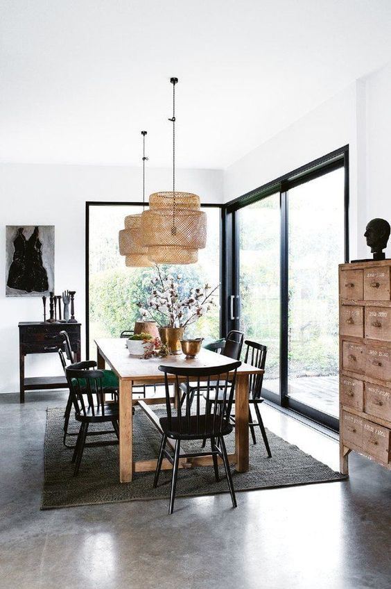 Mid-Century Dining Room Ideas: Stunning Earthy Vibe