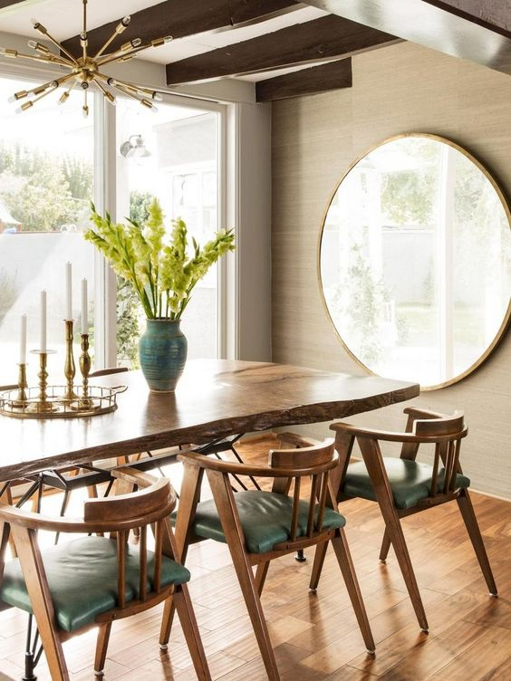 Mid-Century Dining Room Ideas: Decorative Dining Room