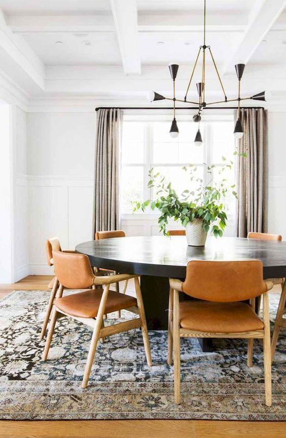 Mid-Century Dining Room Ideas: Stunning Earthy Details