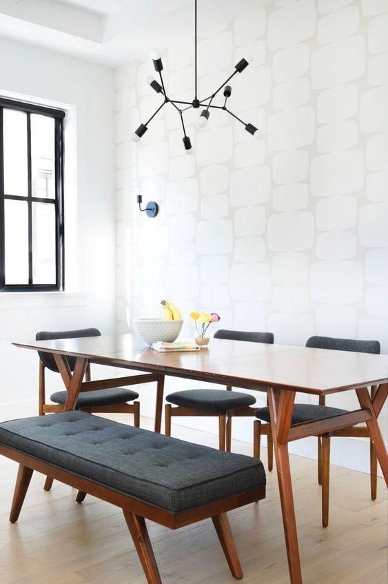 Mid-Century Dining Room Ideas: Cozy Dining Room