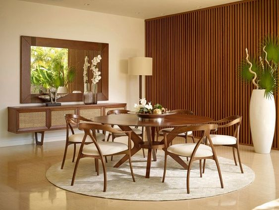 Mid Century Dining Room Ideas