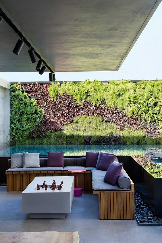 Rooftop Swimming Pool Ideas: Stunning Pool Garden