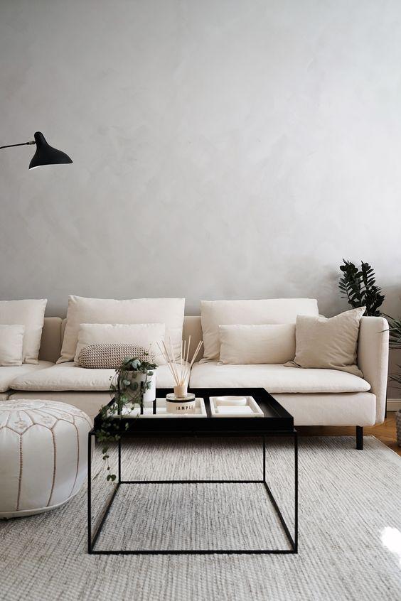 Scandinavian Living Room Ideas: Cozy Neutral Tones