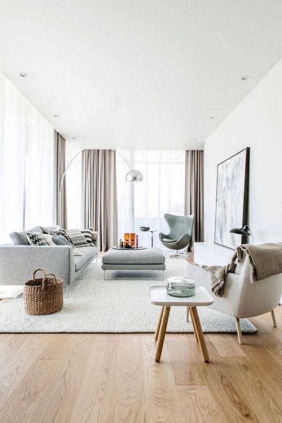 Scandinavian Living Room Ideas: Minimalist and Airy