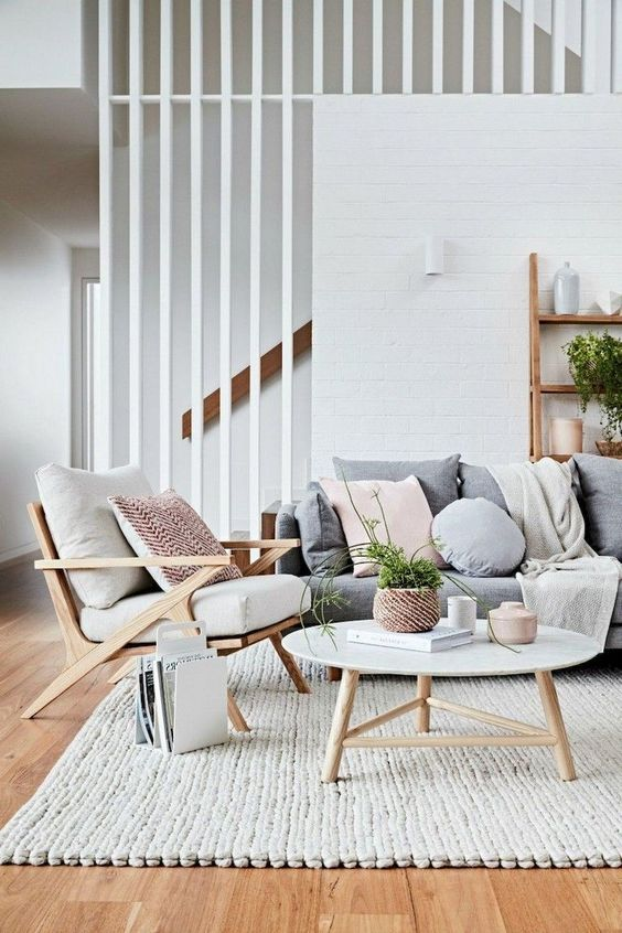 Scandinavian Living Room Ideas: Elegant Simple Look