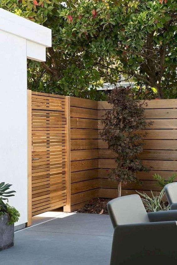 Wooden Fence Ideas: Wood Fence Gate