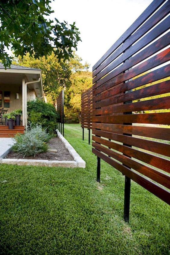 Wooden Fence Ideas: Outstanding Wooden Screen