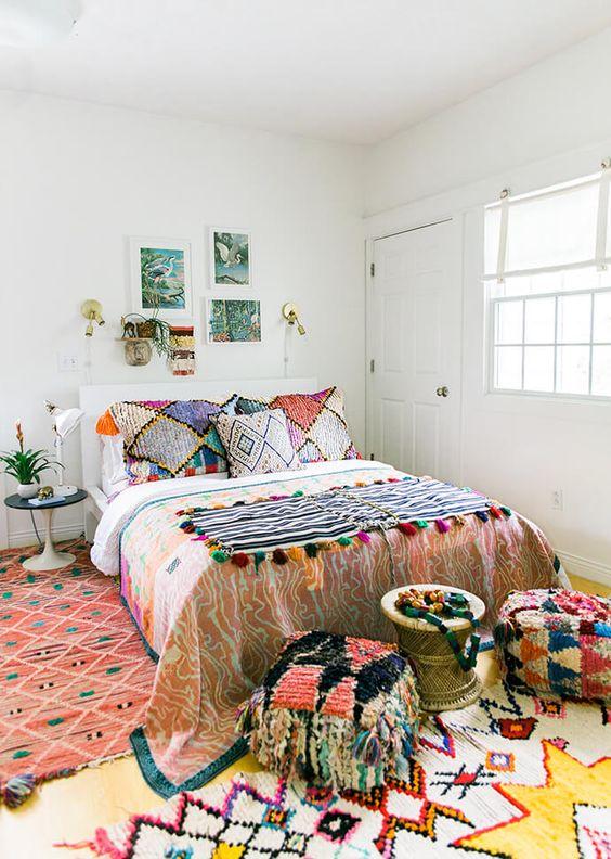 Bohemian Bedroom Ideas: Cozy Bohemian Look