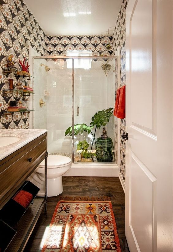 Boho Bathroom Ideas: Make It Loud