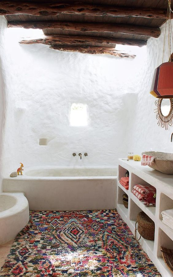 Boho Bathroom Ideas: Mesmerizing Festive Decor