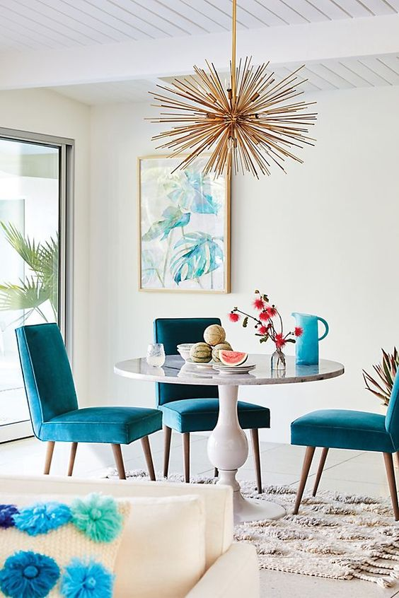 Casual Dining Room Ideas: Stunning Bright Look