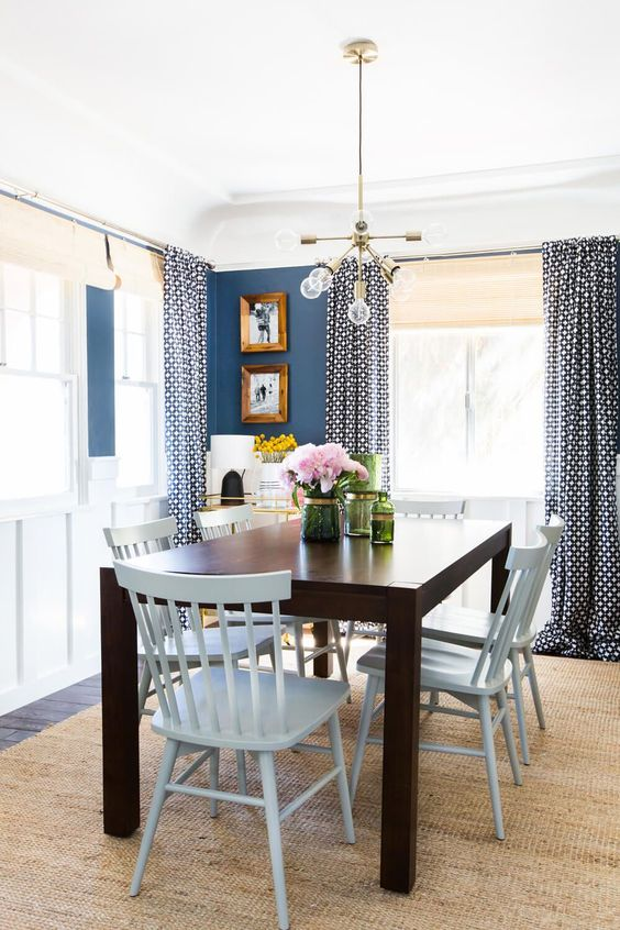 Casual Dining Room Ideas: Fresh Nautical Look