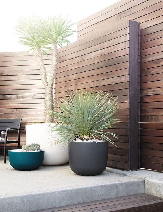Fence Design Ideas: Chic Rustic Nuance