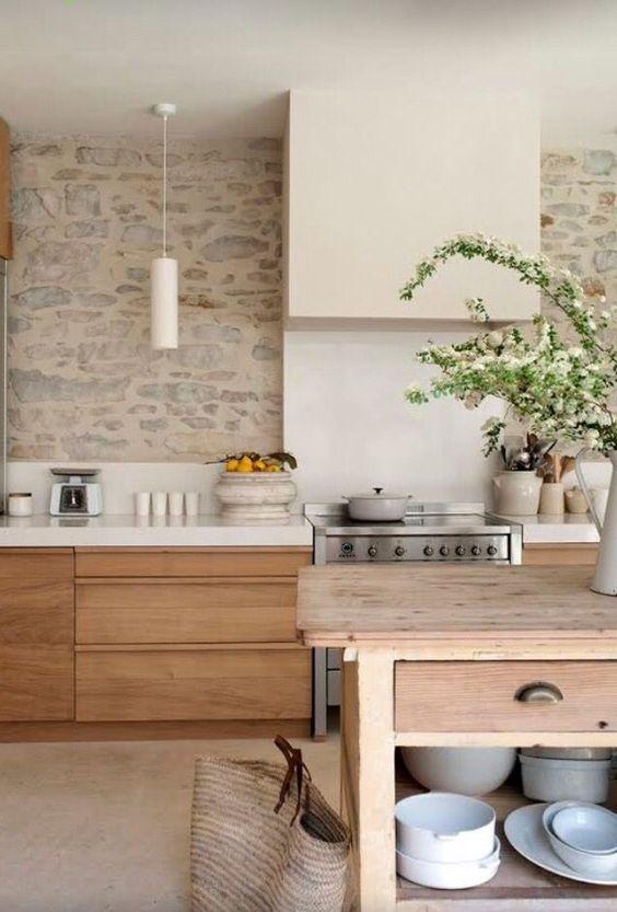 Kitchen Remodel Ideas: Earthy Modern Farmhouse