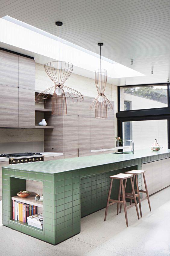 Kitchen Remodel Ideas: Pop Furniture Color
