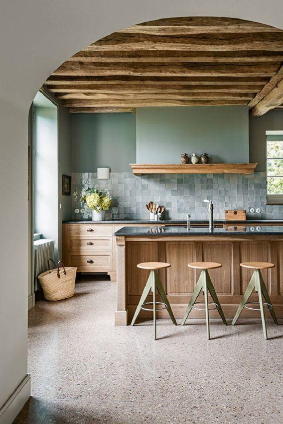 Kitchen Remodel Ideas: Warm Earthy Pastel