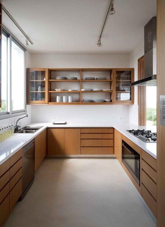 Kitchen Remodel Ideas: Sleek Simple Kitchen