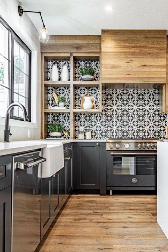 Kitchen Remodel Ideas: Rustic Vintage Look