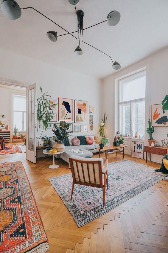 Living Room Inspiration Ideas: Mid Century Ambiance