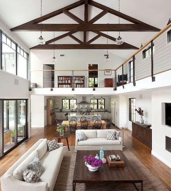 Living Room Inspiration Ideas: Fresh Modern Farmhouse