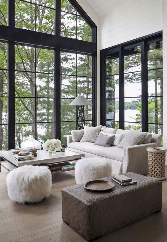 Living Room Inspiration Ideas: Trendy Modern Design