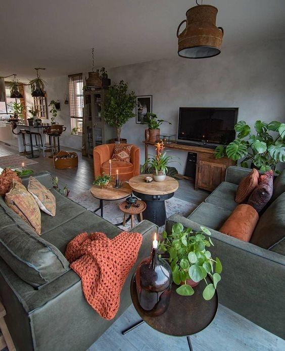 Living Room Inspiration Ideas: Fresh Earthy Decor