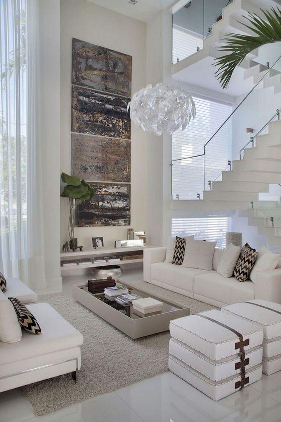 Living Room Inspiration Ideas: Cool Modern Vibe