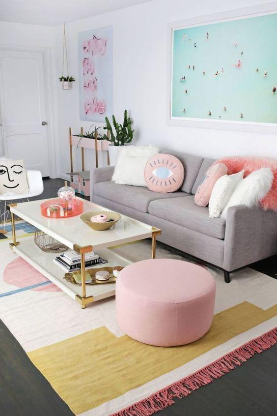 Living Room Inspiration Ideas: Sweet Decorative Room