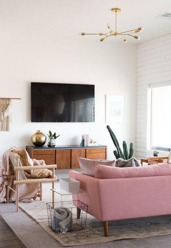 Living Room with TV Ideas: Minimalist TV Setting