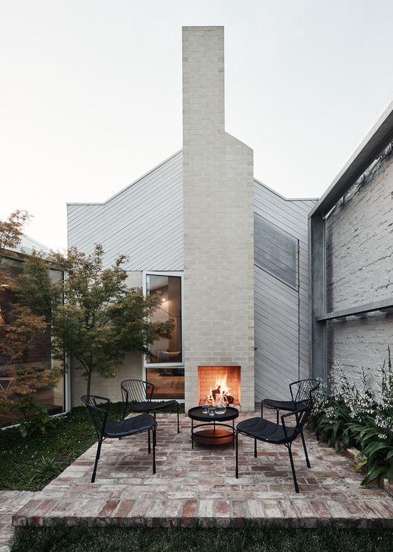 Patio Fireplace Ideas: Captivating Rustic Nuance