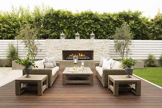 Patio Fireplace Ideas