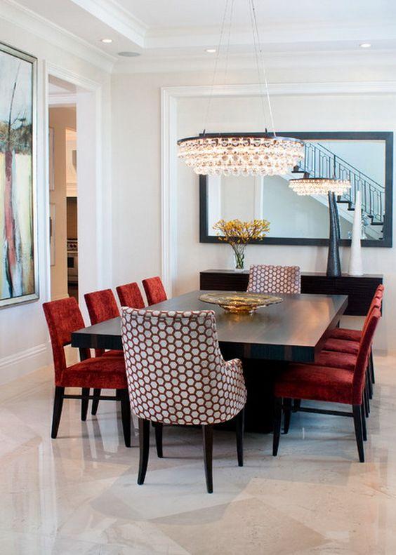 Red Dining Room Ideas: Breathtaking Modern Look