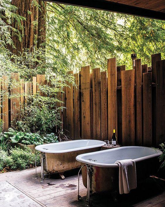 Rustic Fence Ideas: Rustic Wood Cedar