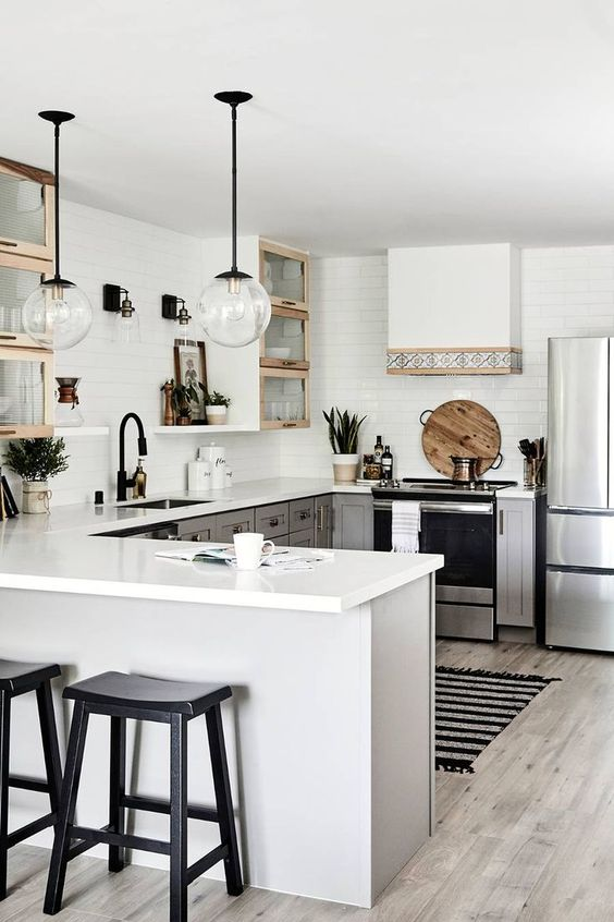 Small Kitchen Ideas: Neat Modern Vibe