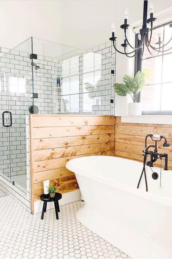 Bathroom Themes Ideas: Beautiful Farmhouse Style