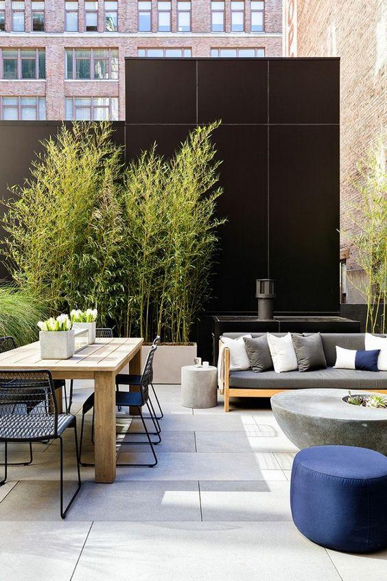 Fence Inspiration Ideas: Modern Tiles Fence